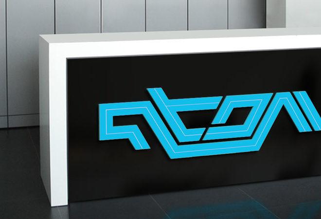 atom-gaming-logo-design
